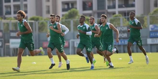 Bursaspor, tempo yükseltti