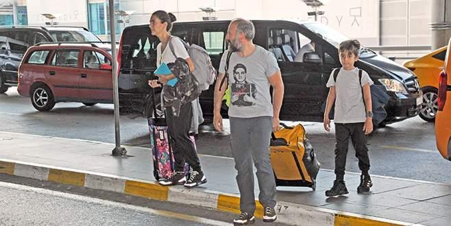 Yurtdışına gittiler