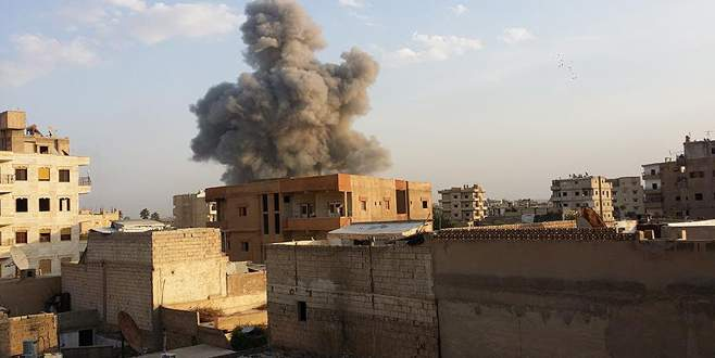 Koalisyon uçakları Rakka'yı vurdu: 27 ölü