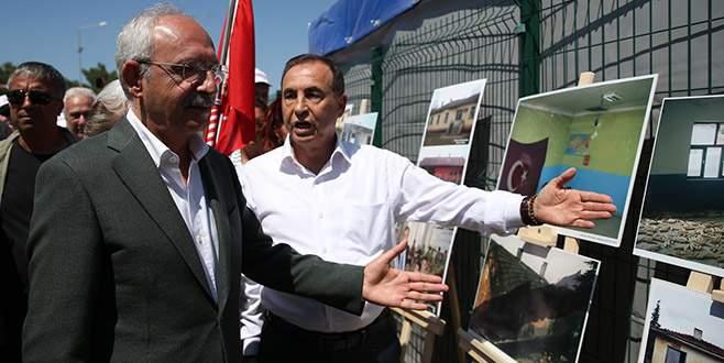 Kılıçdaroğlu Demirel'in sergisini gezdi