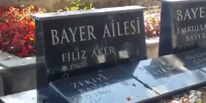 Bir ay önce bu mezarı hazırlatmış…