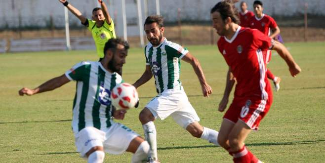 Yazık oldu Yeşil Bursa'ya: 0-1