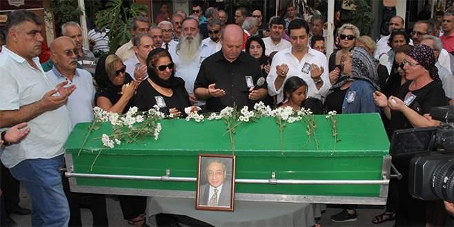 Eski TRT spikeri Mertcan'ın cenazesi toprağa verildi