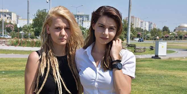 Genç kızların tartaklanmasında polise tahliye