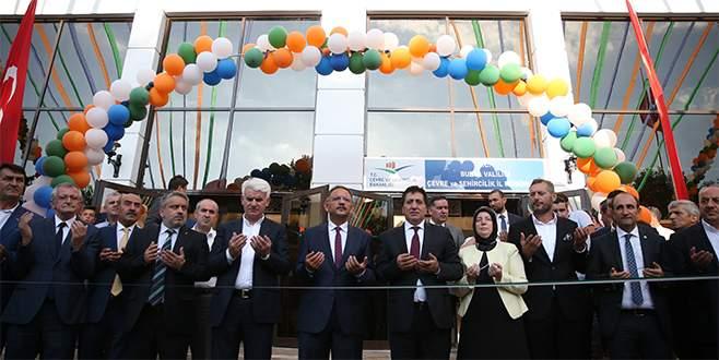 Bursa Çevre ve Şehircilik İl Müdürlüğü yeni binasına kavuştu