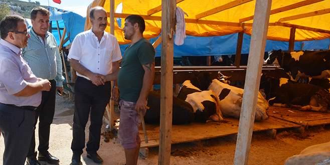 Türkyılmaz'dan kurban pazarına denetleme