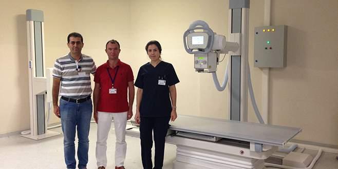 Mustafakemalpaşa'ya ikinci dijital röntgen cihazı