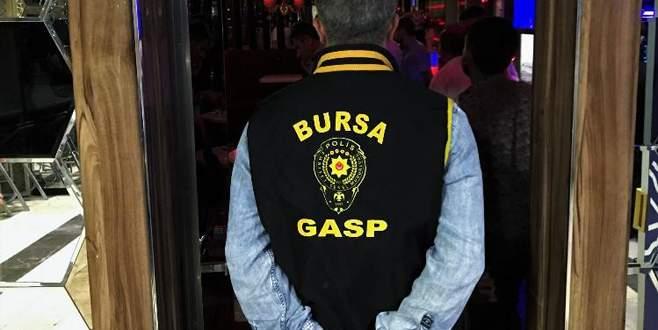 Bursa'da emniyetten huzur operasyonu