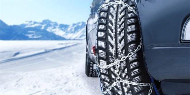 Bu kış özel otomobiller de kış lastiği takacak!