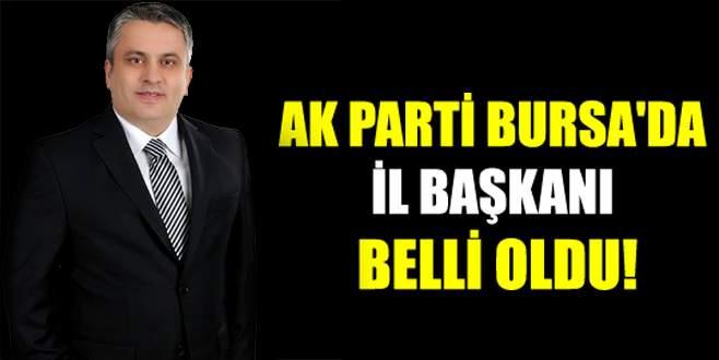 AK Parti Bursa'da il başkanı belli oldu!