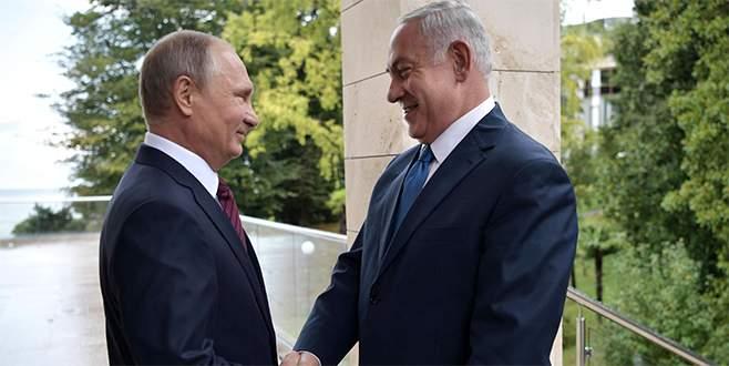 Netanyahu Rusya'da