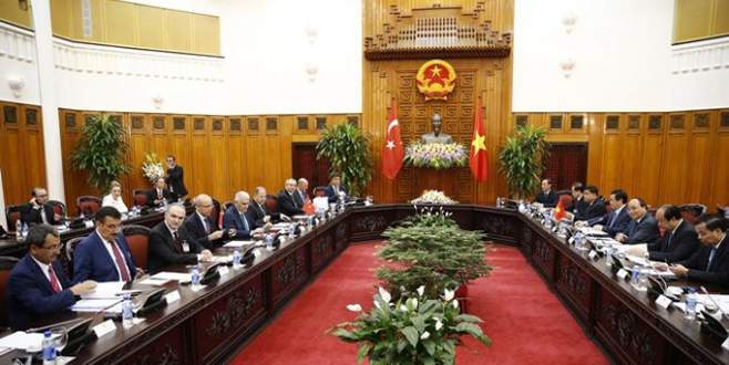 Türkiye ile Vietnam arasında 3 anlaşma imzalandı