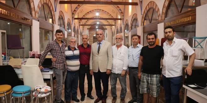 Bursa'da yanan çarşıda büyük dönüşüm