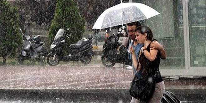 Bursa'ya sağanak yağış uyarısı!