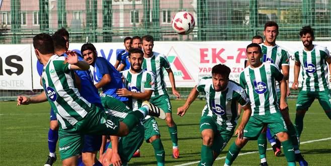 Yeşil Bursa ile Orhangazi yenişemedi: 2-2