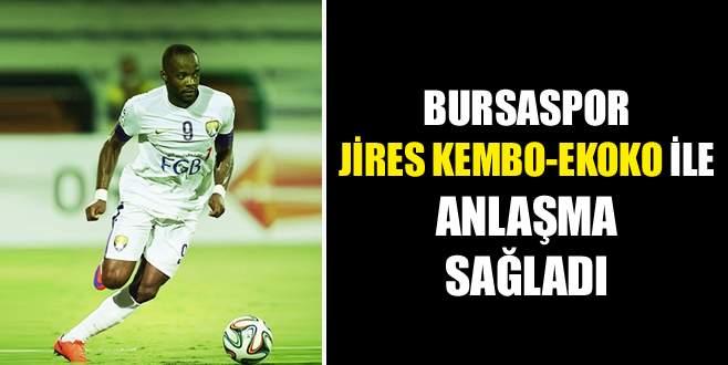Bursaspor Jires Kembo-Ekoko ile anlaşma sağladı