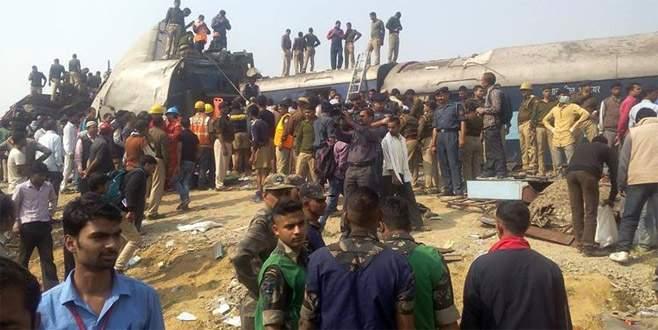 Hindistan'da tren kazası: En az 23 ölü, 81 yaralı