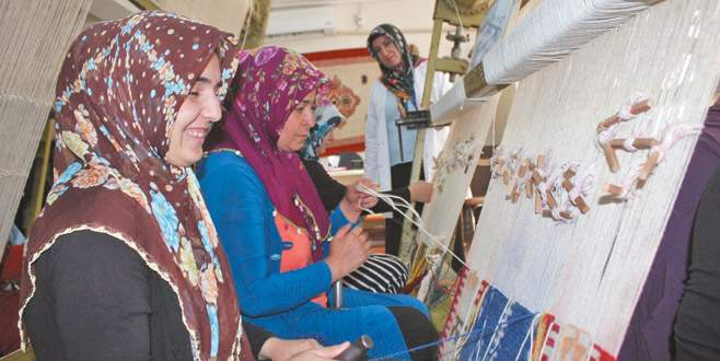 Bursalı kadın esnaf fark yarattı