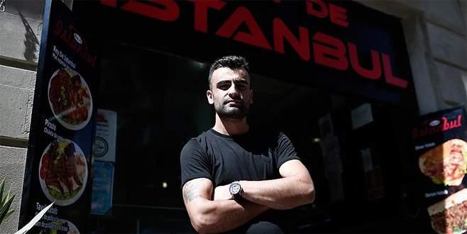 Barcelona polisinden Türklere teşekkür