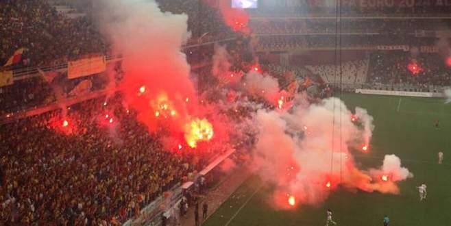 Göztepe-Eskişehir maçına soruşturma: 72 gözaltı kararı