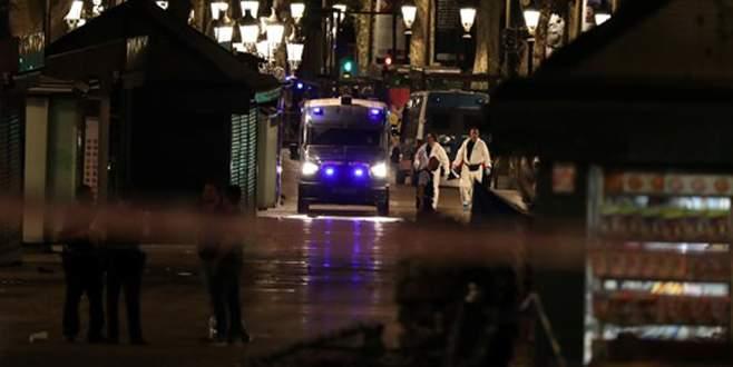 Barcelona saldırısının 5 zanlısı öldürüldü