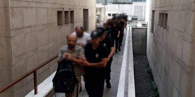 Bursa merkezli FETÖ soruşturmasında 7 tutuklama