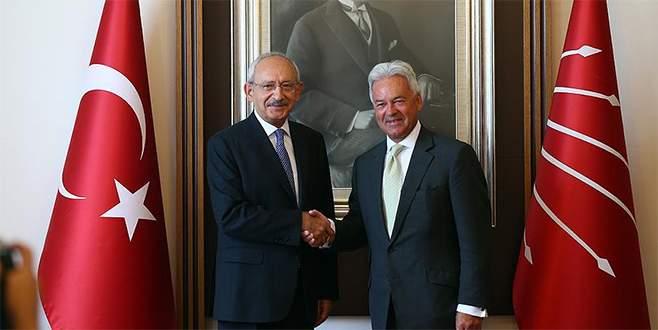 Kılıçdaroğlu, İngiliz Bakan Duncan'ı kabul etti
