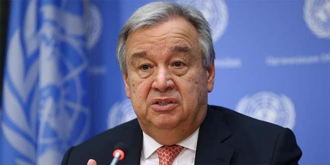 Guterres'ten 'Kuzey Kore' açıklaması