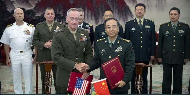 ABD ve Çin askeri işbirliği anlaşması imzaladı