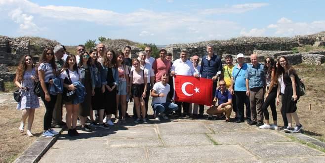 Romanya'da kardeş şehir buluşması