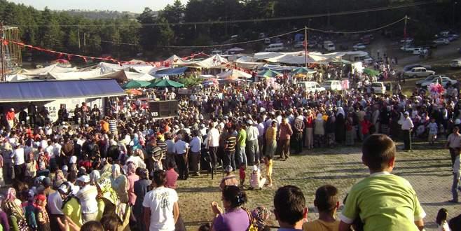 Büyükorhan'da panayır ve festival zamanı