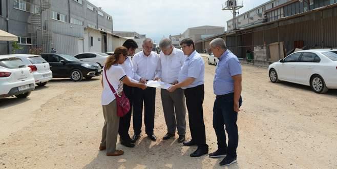 Küçük Sanayi Sitesi sıcak asfalta kavuşuyor