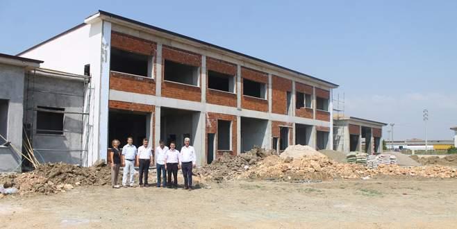 Yeni atölye binası eğitimi rahatlatacak