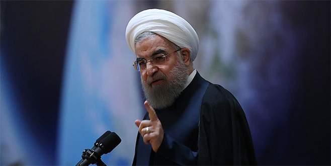 Ruhani'den ABD'ye sert çıkış