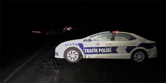 Bursa'da gerçeğini aratmayan trafik polisi aracı