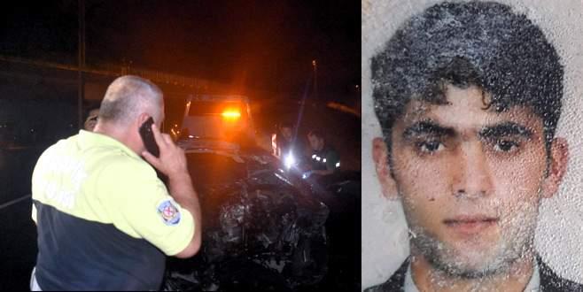Kazada ölen sürücünün çalan telefonunu açan polis acı haberi verdi