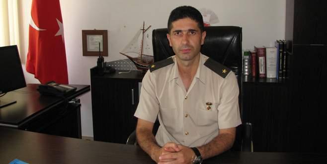 Kestel'e yeni Jandarma komutanı