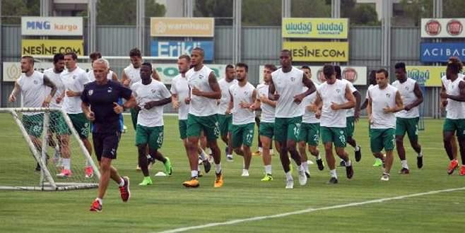 Bursaspor, Alanyaspor maçına hazırlanıyor