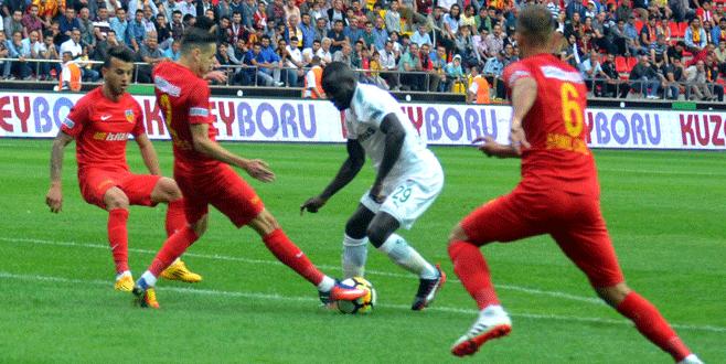 Kayserispor 3-1 Bursaspor (MAÇ SONUCU)