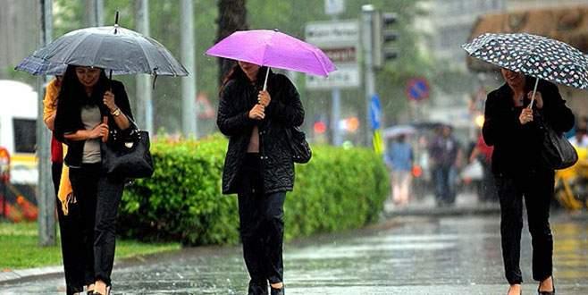 Bakan'dan yağış uyarısı!