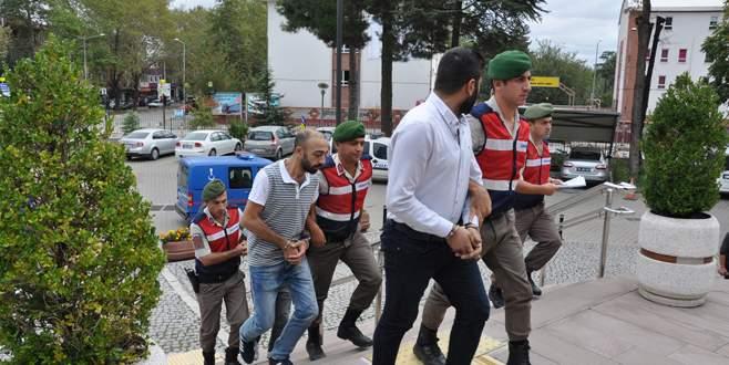 Bursa'da dolandırıcılar adalete teslim edildi
