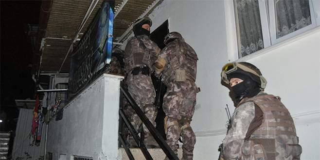Bursa'da El-Nusra operasyonu