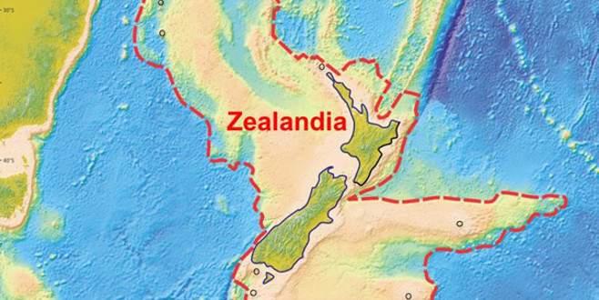 Kayıp kıta 'Zelandiya'nın yeni sırları açığa çıktı