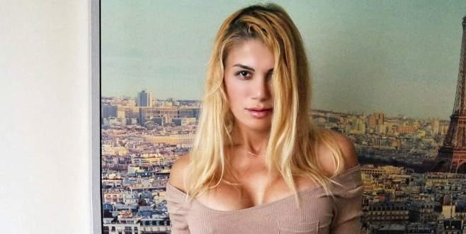 Vücuduyla sosyal medyayı sallayan Türk kızı