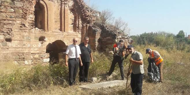 'Hagios Aberkios' kilisesinde temizlik operasyonu