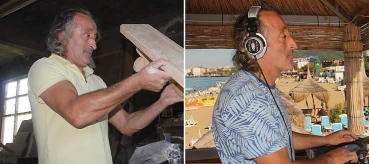 Sabah marangoz öğleden sonra DJ