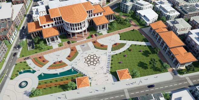 Yenişehir'e Kent Meydanı