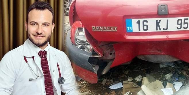 Doktor olduğuna sevinemeden kaza geçirdi