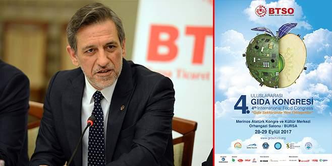 Gıda sektörünün kalbi Bursa'da atacak