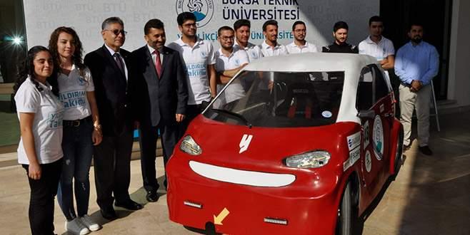 BTÜ'den yerli otomobil